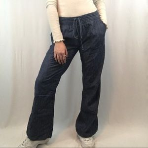 Lucky Brand Wide Leg Denim Pants